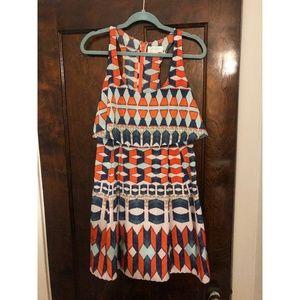 Jessica Simpson Dress - Size 8 - Multi-colored